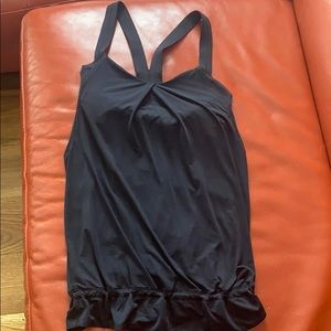 Lulu lemon sports tank with built in bra